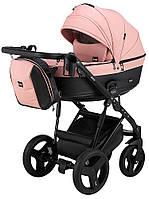 Дитяча коляска 2 в 1 Bair Play BP-44/69 рожевий пудра-чорний