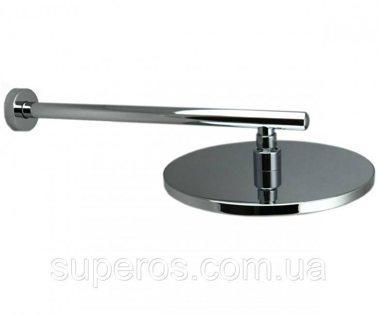 Лейка круглая для душа из хромированной латуни D 250 мм LD-11.RN13-250