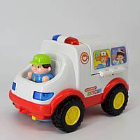 Детская машинка скорой помощи Hola