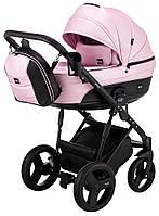 Дитяча коляска 2 в 1 Bair Play Plus BPL-107 рожевий (перламутр) - чорний