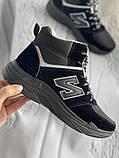 Кроссовки женские зимние черно- серого цвета в наличии, фото 3