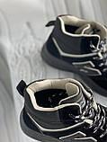 Кроссовки женские зимние черно- серого цвета в наличии, фото 4