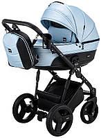 Дитяча коляска 2 в 1 Bair Play Plus BPL-109 блакитний (перламутр) - чорний
