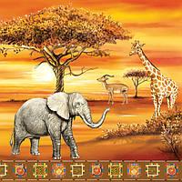 "Салфетки для декупажа ""Africa №2"" (Африка) 33*33 см №171"