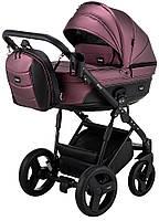Дитяча коляска 2 в 1 Bair Play Plus BPL-127 фіолет (перламутр) - чорний