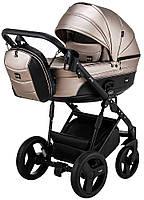 Дитяча коляска 2 в 1 Bair Play Plus BPL-133 бронза (перламутр) - чорний, фото 1