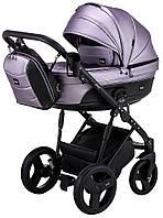 Дитяча коляска 2 в 1 Bair Play Plus BPL-135 світло-бузковий (перламутр) - чорний