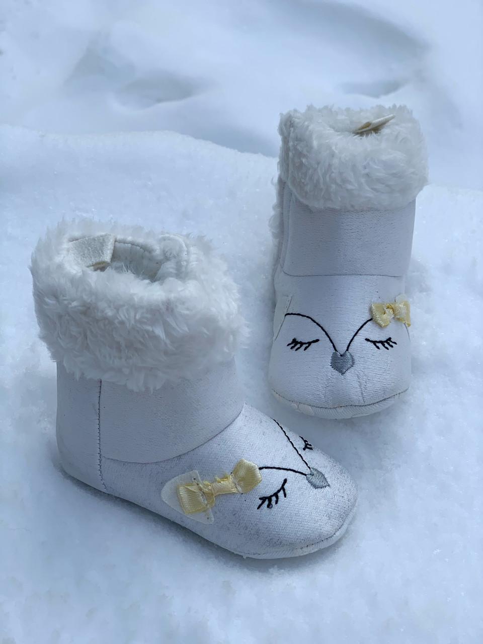 Пінетки - чобітки зимово на хутрі Papulin, Туреччина (0-12 міс).