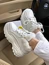 Жіночі черевики Buffalo London White Fure, фото 4
