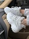 Жіночі черевики Buffalo London White Fure, фото 5