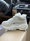 Жіночі черевики Buffalo London White Fure, фото 7