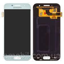 Дисплей Samsung AMOLED Galaxy A3 A320 2017 GH97-19732A white orig