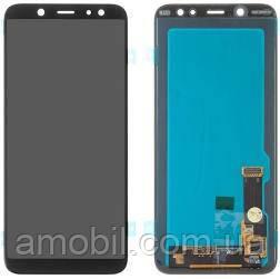 Дисплей Samsung Galaxy J6 J600 J600F J600G (2018) OLED black