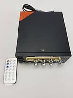 Усилитель мощности звука 2х канальный BM AUDIO BM-800BT USB с Блютуз, фото 1