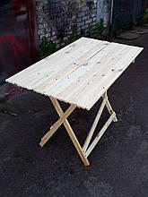 Стол раскладной для торговли или пикника 70х130 см туристический