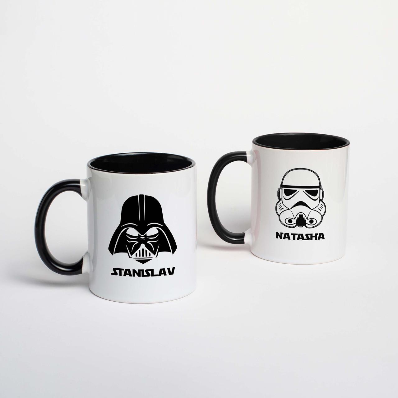 """Кружки парные """"Star Wars"""" персонализированные"""