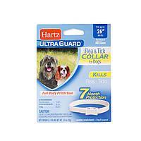 Hartz (Харц) Нашийник від бліх та кліщів для великих собак на 7мес 65см (білий)