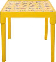 Стол детский Азбука английская Желтый, КОД: 1128918