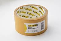 Скотч двухсторонний UNIFIX на полипропиленовой основе 50 мм х 10 м Желтый 051762, КОД: 1721523