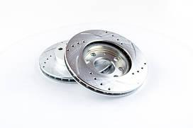 Диск тормозной передний AURORA Daewoo Lanos, Sens Sport 2 шт 017665, КОД: 1688085