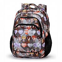 Рюкзак школьный Dolly-530 Серый, КОД: 1861436