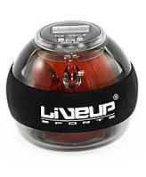 Кистевой тренажер LiveUp Power Ball Orange-Black LS3319, КОД: 1858460