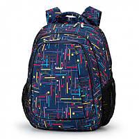 Рюкзак школьный Dolly-529 Синий, КОД: 1861438