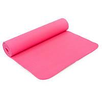 Коврик для йоги и фитнеса Yogamat TPE+TC 6мм SP-Planeta FI-4937, Розовый