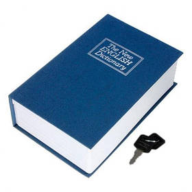 Книга сейф Mine Английский словарь 24 см Синий (hub_nlnaas)