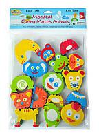 Аква-пазлы детские Смешные животные 8 игрушек Baby Great
