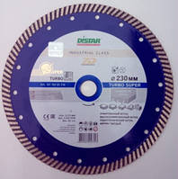 Алмазный диск для резки железобетона Distar Super Turbo 232x2,6x12x22,23