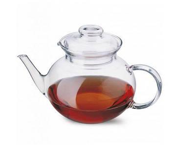 Чайник заварочный с носиком Simax Eva 1,0л термостойкое стекло s3373
