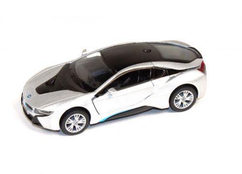 """Машинка KINSMART """"BMW i8"""" (серебристая) KT5379W"""