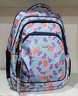Рюкзак школьный Dolly-541 Голубой, КОД: 1861409
