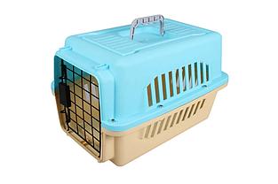 Переноска AnimAll A1104 для кошек и собак 47х31х30 см голубая