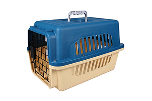 Переноска AnimAll A1104 для кошек и собак 47х31х30 см синяя