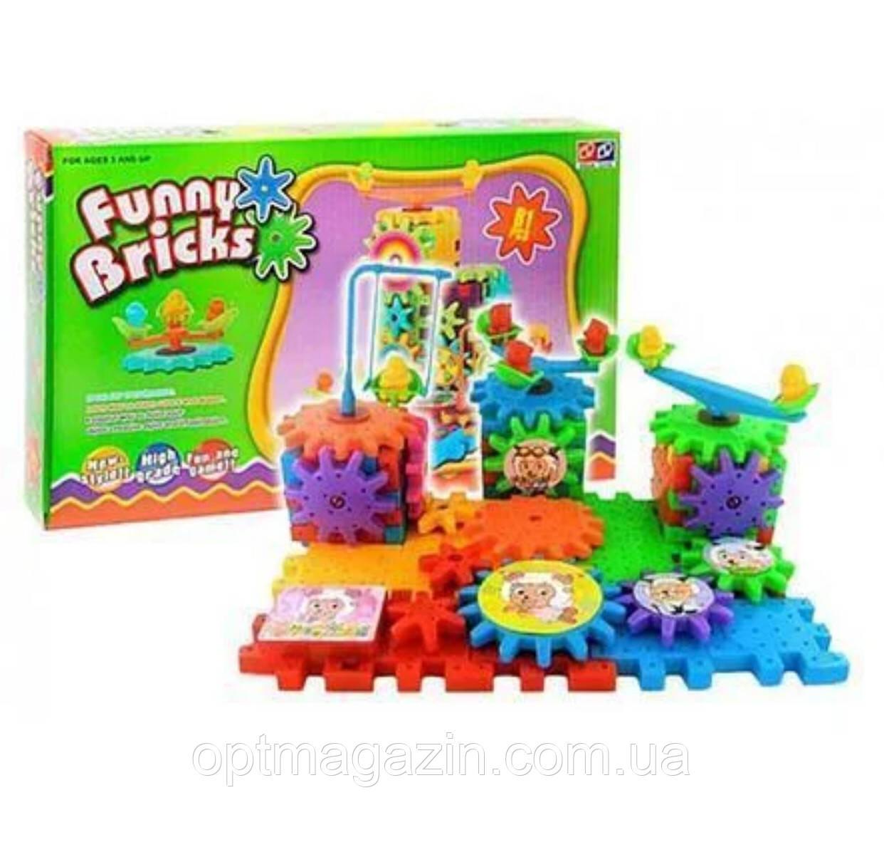 Конструктор Funny Bricks (Фанні Брікс),Конструктор для дітей 81 деталей