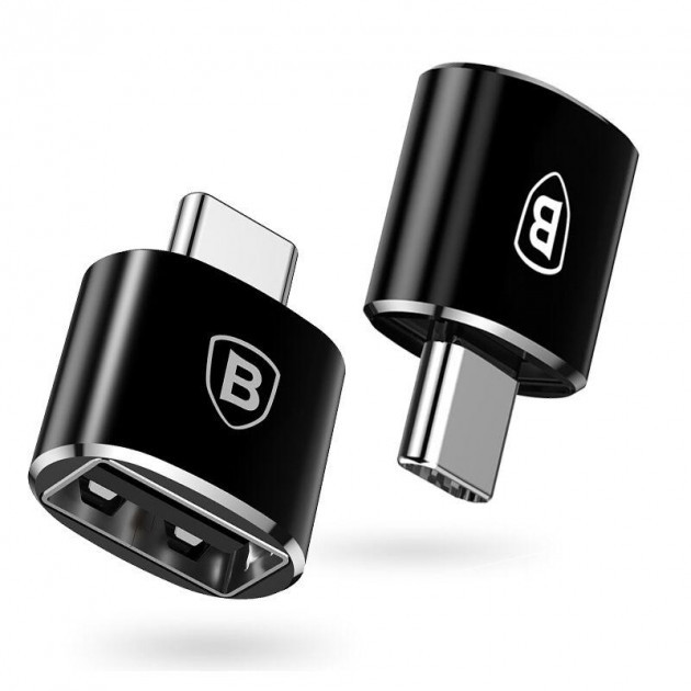 Переходник Baseus Type-C to USB (black)