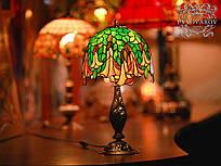 Светильники Тиффани из цветного стекла