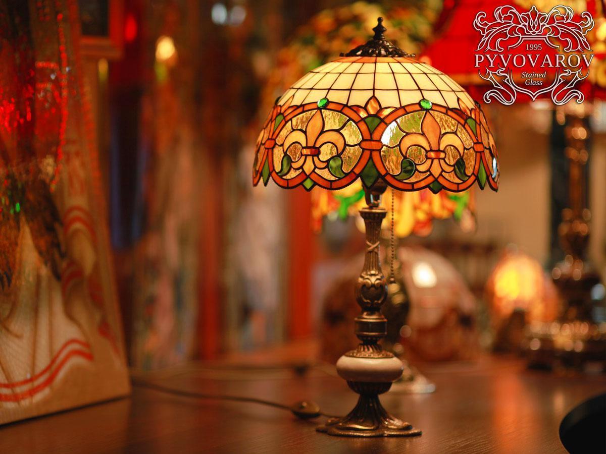 Лампа Тиффани на рабочий стол