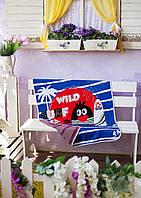 Веселое детское покрывало в кроватку с рисунком, фото 1