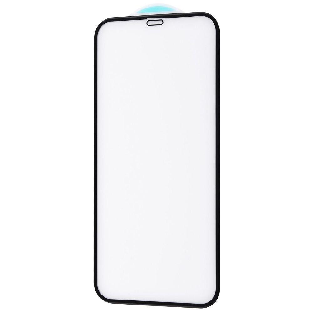 Защитное стекло FULL SCREEN HQ iPhone 12 Pro Max без упаковки (black)