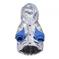 Куртка с капюшоном для животных Hoopet HY-1013 Сhromium S осень-зима