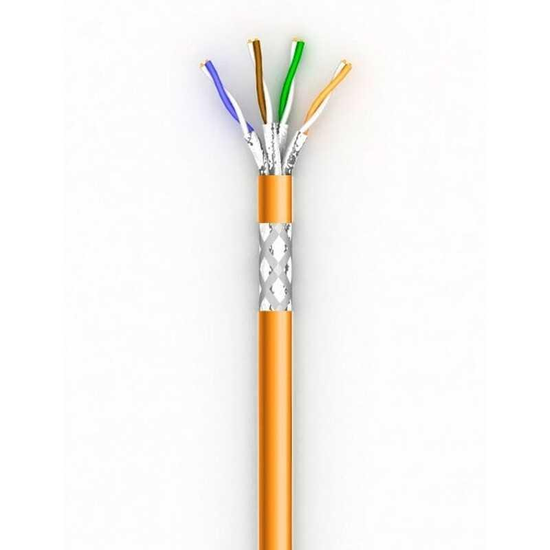 Лан кабель КПВнг-HFЭО-ВП (200) 4*2*0,51 (SF/UTP-cat.5E LSFROH), Одескабель