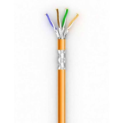 Лан кабель КПВнг-HFЭО-ВП (200) 4*2*0,51 (SF/UTP-cat.5E LSFROH), Одескабель, фото 2