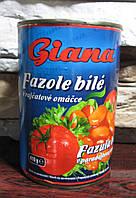 Фасоль белая в томате Giana 400 гр