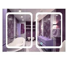 Зеркало прямоугольное с LED подсветкой SmartWorld Zlata 90x140x3 см (1030-d15-90x140x3)
