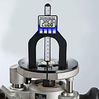 Цифровой глубиномер с магнитной линейкой измеритель глубины и высоты 0-80мм