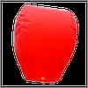 Небесный фонарик купол, высота фонарика: 85 см., цвет: красный