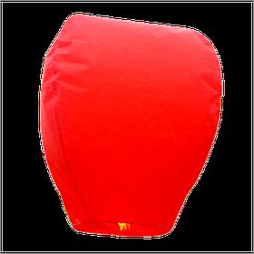 Небесний ліхтарик купол, висота ліхтарика: 85 див., колір: червоний